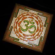Для дома и интерьера handmade. Livemaster - original item Box Yantra-Om-3. Handmade.
