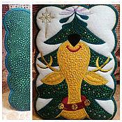 Для дома и интерьера ручной работы. Ярмарка Мастеров - ручная работа Новогодняя подставочка. Handmade.