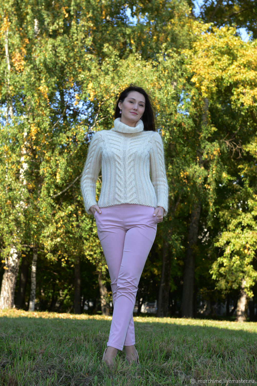 Pullover Swan Princess, Pullover Sweaters, Kirov,  Фото №1