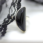 Украшения handmade. Livemaster - original item Ring with onyx