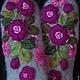 Варежки, митенки, перчатки ручной работы. Варежки с вышивкой  Bordo. Ludmila Batulina (milenaleoneart). Интернет-магазин Ярмарка Мастеров.