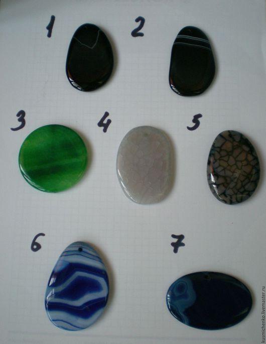 Для украшений ручной работы. Ярмарка Мастеров - ручная работа. Купить Камень натуральный агат. Handmade. Комбинированный, агаты