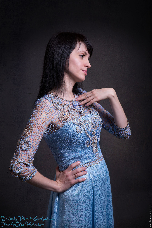 Голубое платье с доставкой