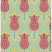 """Ткани ручной работы. Ярмарка Мастеров - ручная работа №150 американский хлопок """"Тюльпан"""" от Голда Инги ШИТЬЕ. Handmade."""