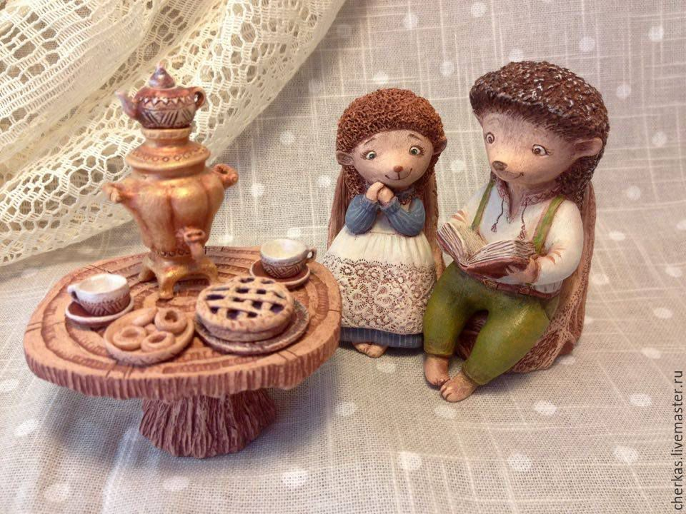 Cozy tea-party, Figurines, Dnepropetrovsk,  Фото №1