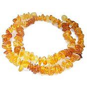 Украшения handmade. Livemaster - original item Amber beads cognac honey amber natural stones yellow orange. Handmade.