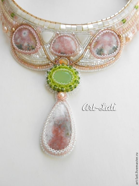 Set «Delicate pastel», Necklace, Moscow,  Фото №1