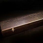 Сувениры и подарки handmade. Livemaster - original item Casket of oak, for a dagger or a long knife. Handmade.