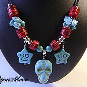 Украшения handmade. Livemaster - original item Necklace with turquoise