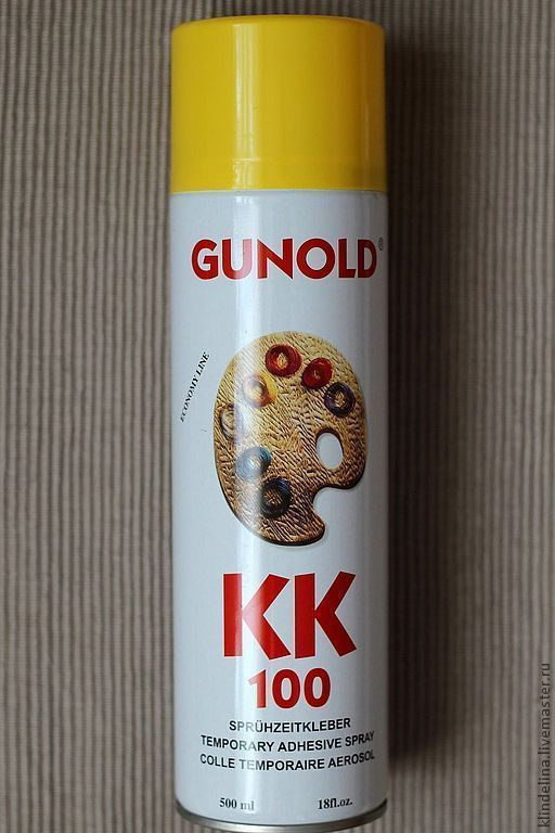 """Вышивка ручной работы. Ярмарка Мастеров - ручная работа. Купить Клей-спрей временной фиксации Gunold """"КК 100"""". Handmade."""