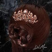 Украшения handmade. Livemaster - original item Comb for hair with pearls