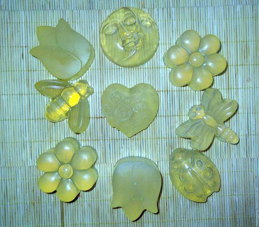 """Мыло ручной работы. Ярмарка Мастеров - ручная работа. Купить Мыло """"Органическое"""". Handmade. Желтый, детское мыло"""