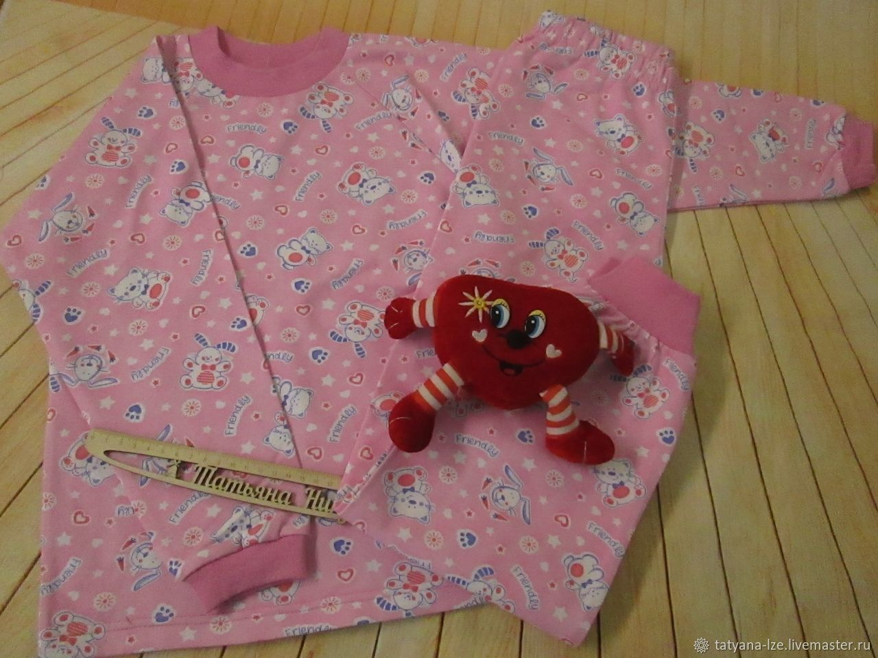 Пижама для девочки- ручная работа, Одежда, Курск, Фото №1