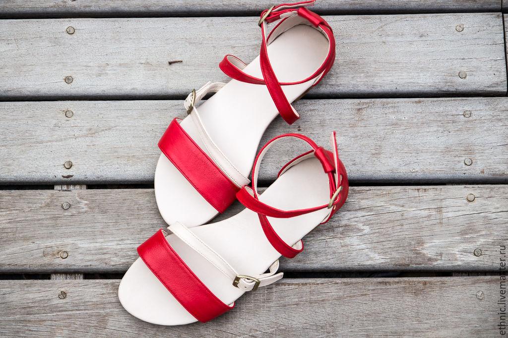 7466c82c9 Ярмарка Обувь ручной работы. Женские кожаные сандалии Nicole. СКИДКА 15%.  Maria. Ярмарка