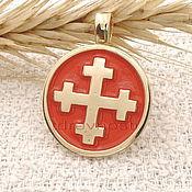 Фен-шуй и эзотерика handmade. Livemaster - original item Dvenadtsatiletny cross,Slavic charms charms enamel. Handmade.