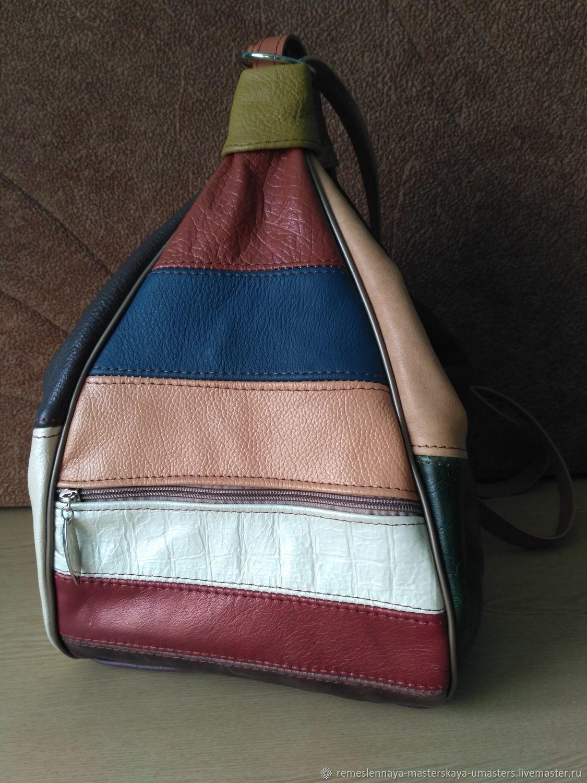 Сумка-рюкзак из натуральной кожи, Классическая сумка, Чебоксары,  Фото №1