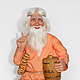 Сказочные персонажи ручной работы. Ярмарка Мастеров - ручная работа. Купить Домовой (повтор). Handmade. Оранжевый, кукла в подарок
