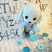 Куклы и игрушки ручной работы. Ярмарка Мастеров - ручная работа Голубой щенок. Handmade.