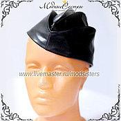Аксессуары handmade. Livemaster - original item Cap leather Art.-063. Handmade.