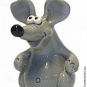 Куклы и игрушки ручной работы. Ярмарка Мастеров - ручная работа Мышка. Handmade.