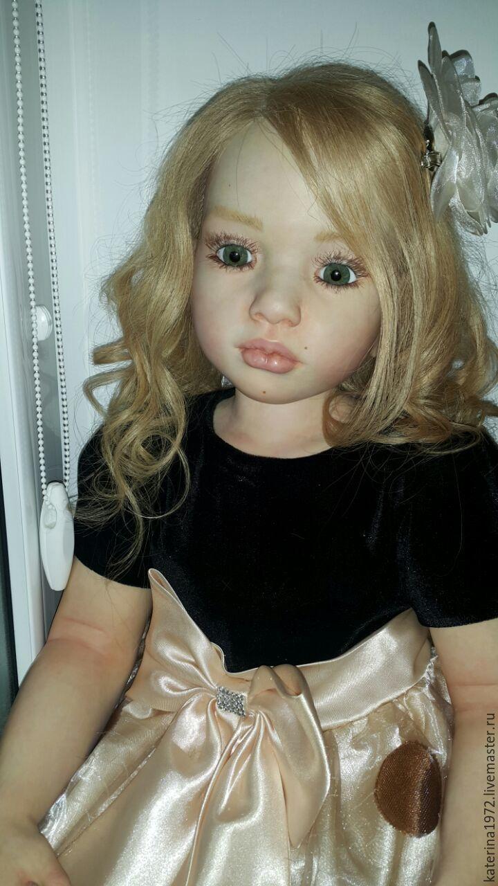 Куклы-младенцы и reborn ручной работы. Ярмарка Мастеров - ручная работа. Купить Кукла Реборн Аленка. Handmade. Бежевый