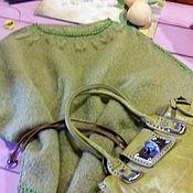 """Одежда ручной работы. Ярмарка Мастеров - ручная работа Вязаный пуловер """"Лайм"""". Handmade."""