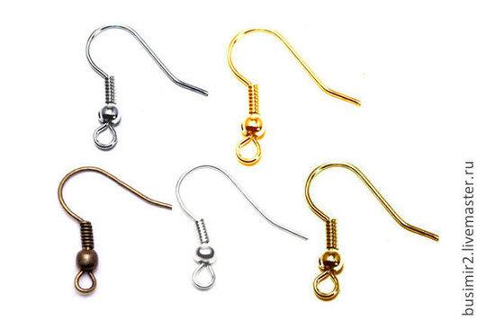 Швензы, цвет - платина,золото,медь, серебро, бронза. Размер 18 мм. Швензы для создания украшений. Busimir