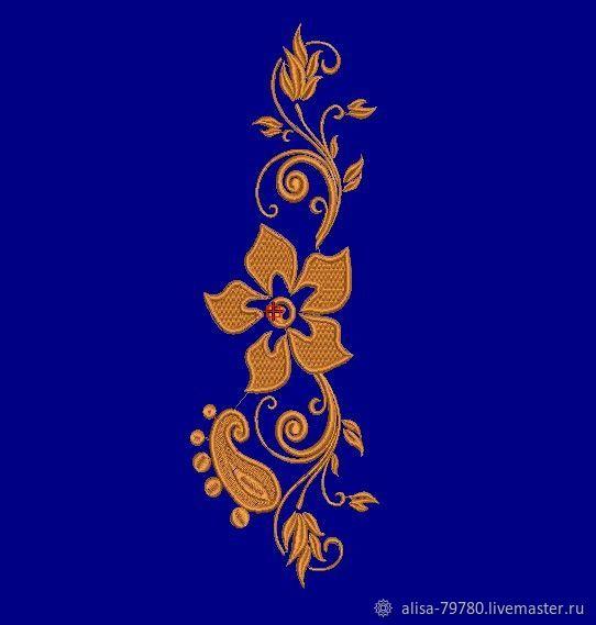 """Дизайн для машинной вышивки""""Цветочная композиция 2"""", Дизайн, Симферополь,  Фото №1"""