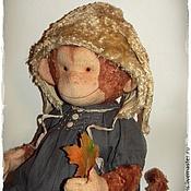 """Куклы и игрушки ручной работы. Ярмарка Мастеров - ручная работа Конопатая """"зайка"""". Handmade."""