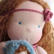 Вальдорфская кукла Лизонька с Лялечкой 36 см.