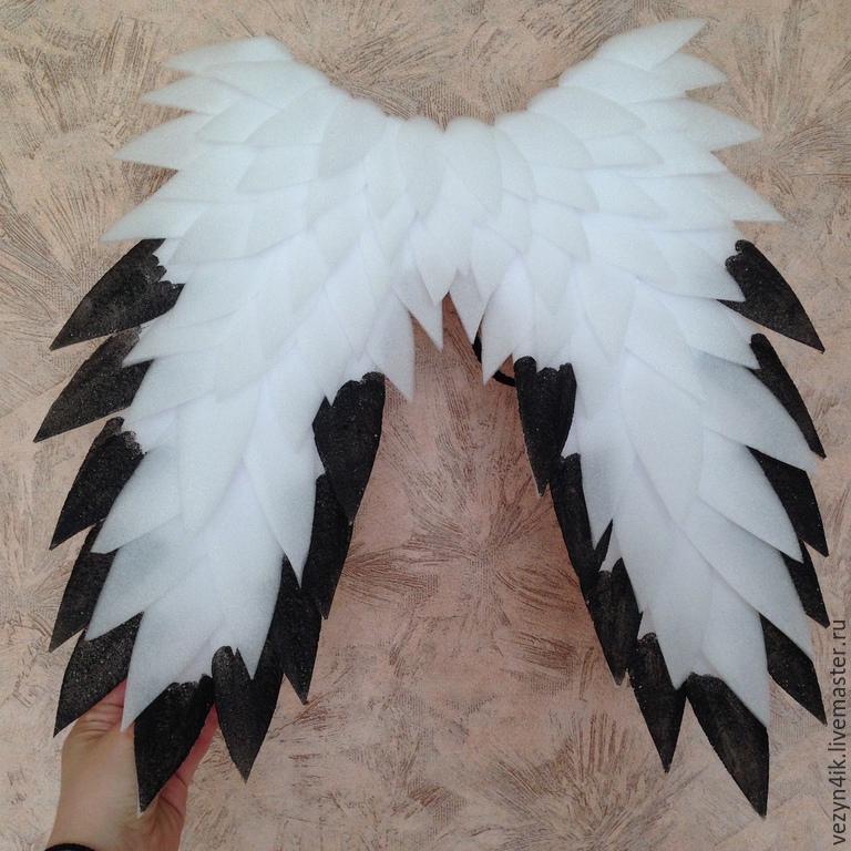 Как сделать крылья ворона своими руками