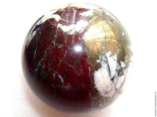 Персональные подарки ручной работы. Ярмарка Мастеров - ручная работа. Купить Шар из гематита, кварца, пирита диаметр 8 см. Handmade.
