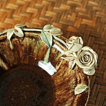 Для дома и интерьера ручной работы. Ярмарка Мастеров - ручная работа Пиала Шоколад. Handmade.