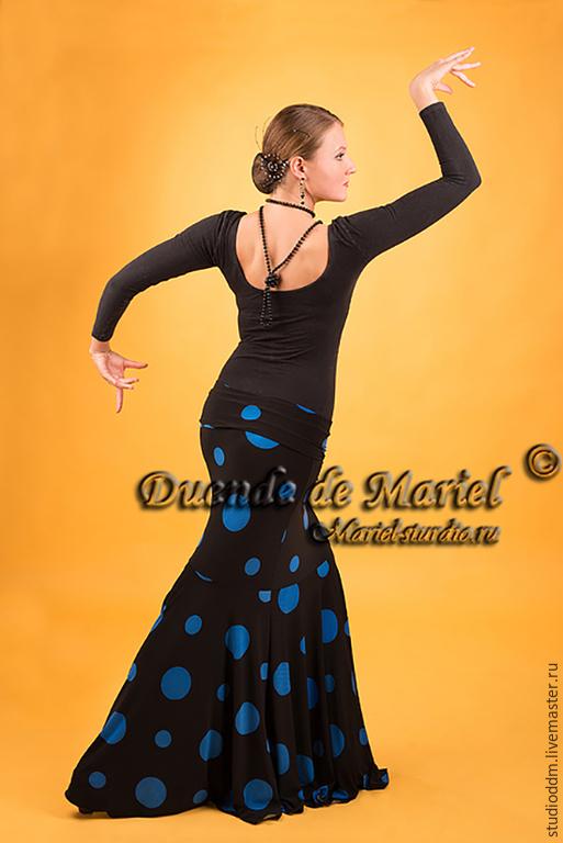 Юбка `Golondrina` (`Ласточка`) идеально подходит для фламенко, восточного танца и tribal. Подобную модель можно сделать любого расцвета, на Ваш выбор!