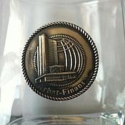 Дизайн и реклама handmade. Livemaster - original item Corporate gifts and business Souvenirs: tableware with silver logo. Handmade.