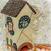 Для дома и интерьера ручной работы. Ярмарка Мастеров - ручная работа Чайный домик Весенний. Handmade.