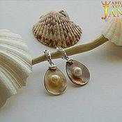Украшения handmade. Livemaster - original item Mother of pearl.