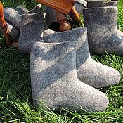 Обувь ручной работы. Ярмарка Мастеров - ручная работа валенки детские классической валки. Handmade.