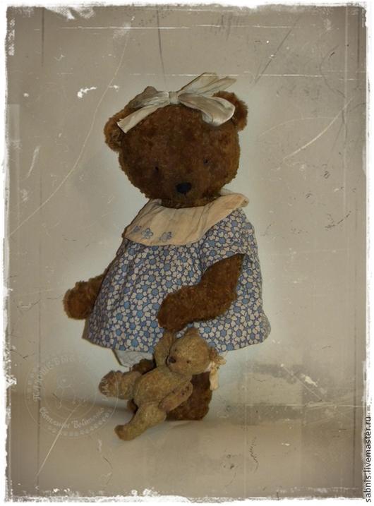 Мишки Тедди ручной работы. Ярмарка Мастеров - ручная работа. Купить Уронили мишку на пол..... Handmade. Коричневый, мишка-тедди