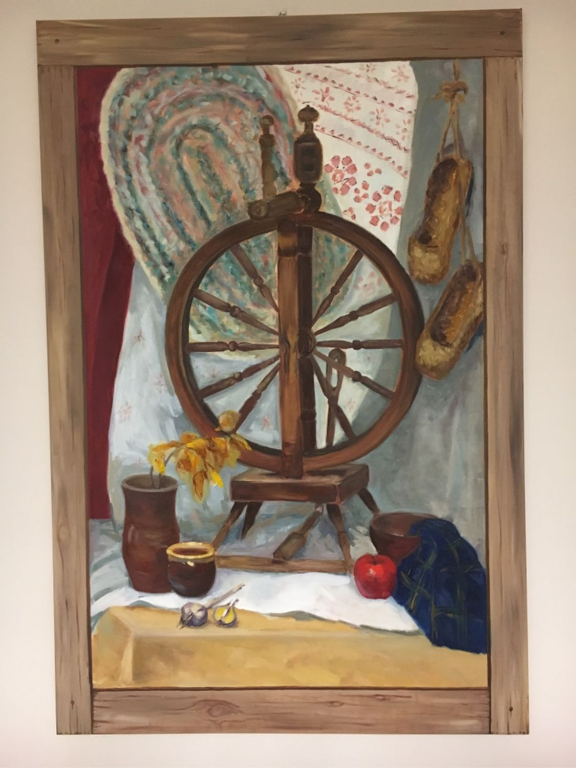 Spinning wheel, Pictures, Tomsk,  Фото №1