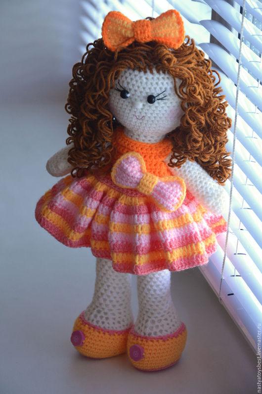 Человечки ручной работы. Ярмарка Мастеров - ручная работа. Купить Кукла вязаная крючком. Handmade. Комбинированный, подарок девочке