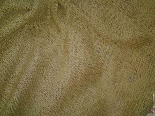 Шитье ручной работы. Ярмарка Мастеров - ручная работа. Купить Ткань вязаная шерстяная соломенно-медовая.. Handmade. Бежевый