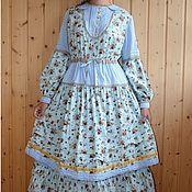 Одежда handmade. Livemaster - original item Dress with skirt My village, dress with petticoat. Handmade.