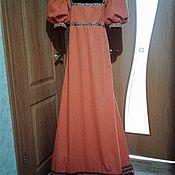 Одежда ручной работы. Ярмарка Мастеров - ручная работа Средневековое платье. Handmade.