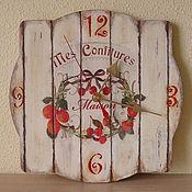 """Для дома и интерьера ручной работы. Ярмарка Мастеров - ручная работа Часы """"Конфитюр"""". Handmade."""