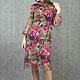 Платья ручной работы. Ярмарка Мастеров - ручная работа. Купить Vacanze Romane-1173. Handmade. Разноцветный, коктельное платье