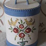 Посуда handmade. Livemaster - original item Birch bark tues -2. Ural-Siberian painting. Handmade.