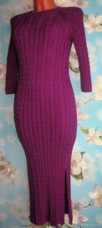 Knitted dress, long, Dresses, Penza,  Фото №1