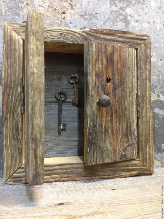Прихожая ручной работы. Ярмарка Мастеров - ручная работа. Купить Ключница из старой доски. Handmade. Комбинированный, старая доска