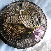 Для дома и интерьера handmade. Livemaster - original item A large basket with a lid